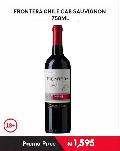 FRONTERA CHILE CAB SAUVIGNON 750ML