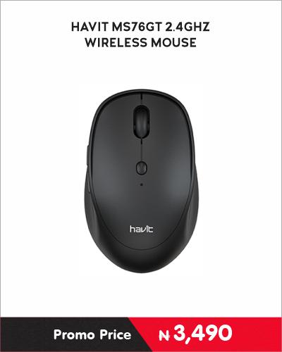 HAVIT MS76GT 2.4GHZ Wireless Mouse