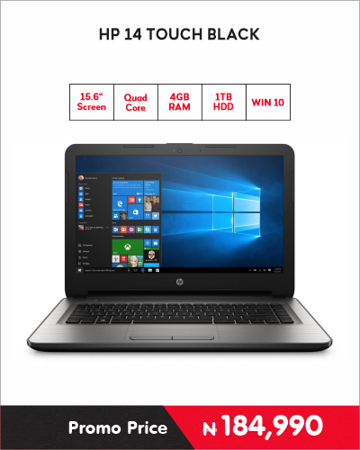 HP 14 TOUCH BLACK