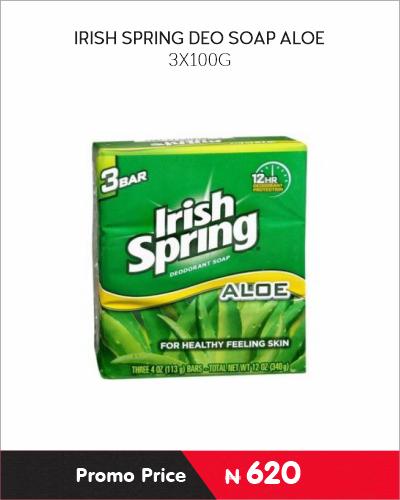 IRISH SPRING DEO SOAP ALOE