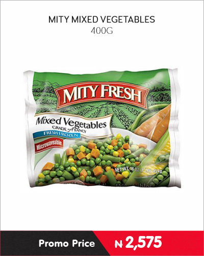MITY MIXED VEGETABLES