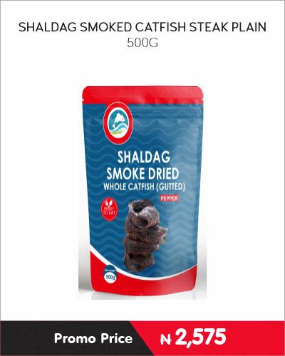 SHALDAG SMOKED CATFISH STEAK PLAIN