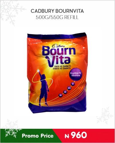Cadbury Bournvita 500g refil