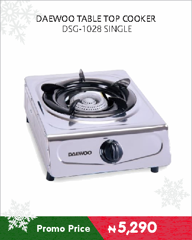 DAEWOO TABLE TOP COOKER DSG-1028 SINGLE