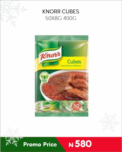 KNORR CUBES 400g