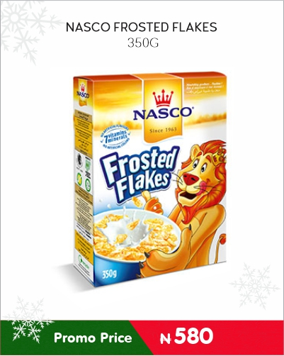 NASCO FROSTED FLAKES 350G