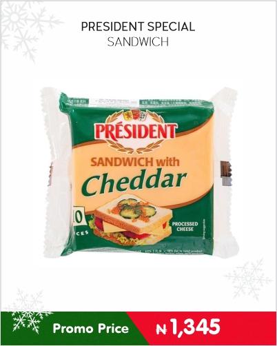 PRESIDENT SPECIAL SANDWICH
