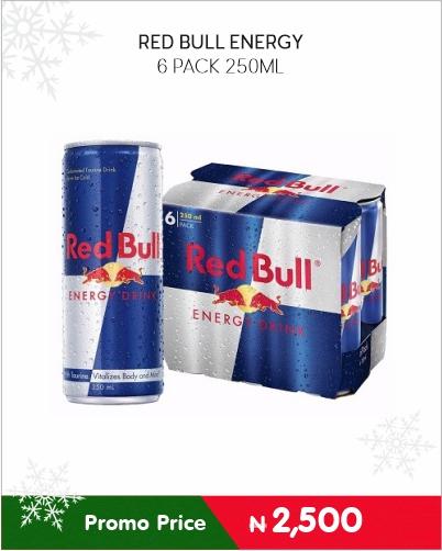 RED BULL ENERGY 6pack 250ml