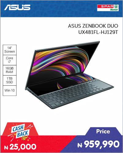 ASUS ZENBOOK DUO UX481FL-HJ129T