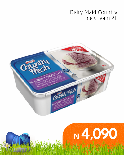 Dairy Maid Country Ice Cream 2L