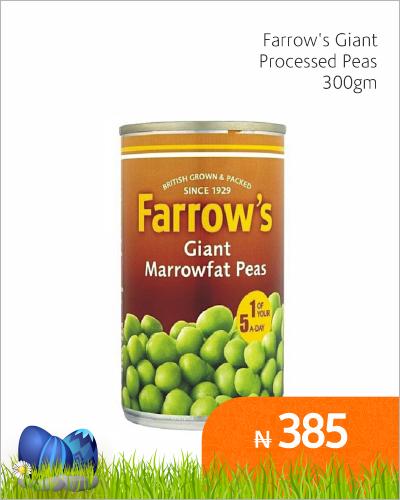 Farrow\'s Giant Processed Peas 300gm