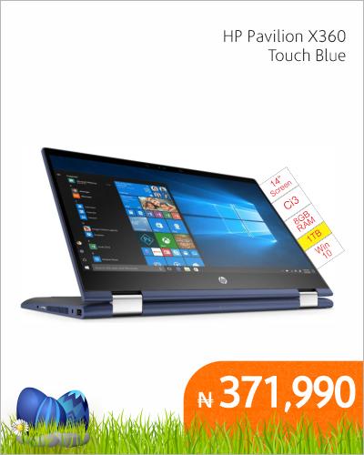 HP Pavilion X360 Touch Blue