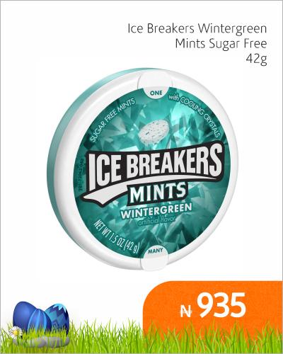 Ice Breakers Wintergreen Mints Sugar Free 42G