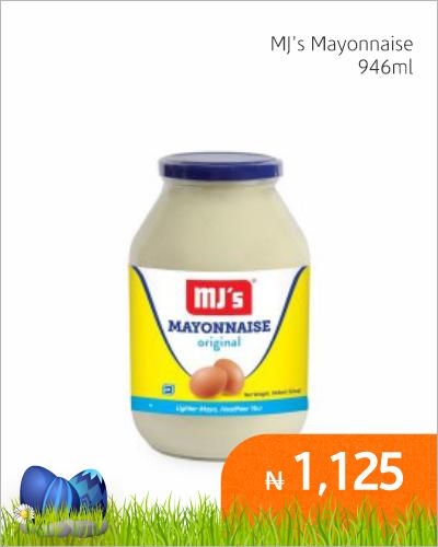 MJ\'s Mayonnaise 946ml