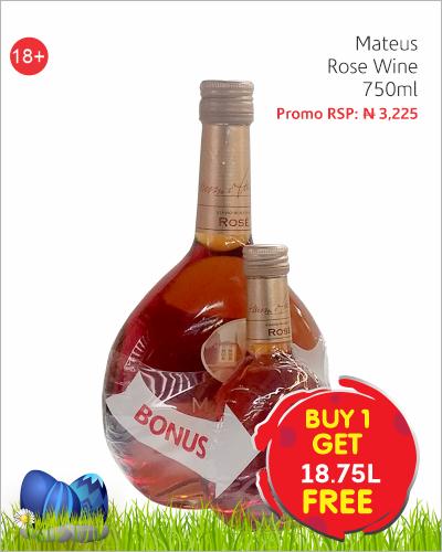 Mateus Rose Wine 750ml