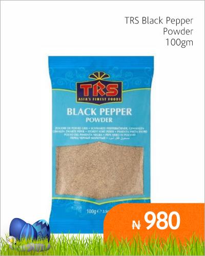 TRS Black Pepper Powder 100gm