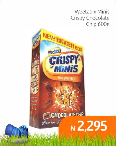 Weetabix Minis Crispy Chocolate Chip 600g