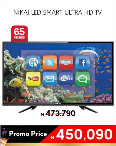 NIKAI LED SMART ULTRA HD TV