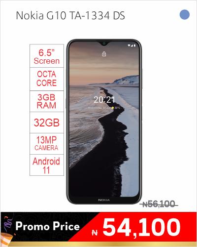 Nokia G10 TA-1334 DS