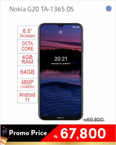 Nokia G20 TA-1365 DS