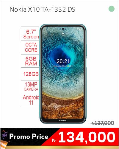 Nokia X10 TA-1332 DS
